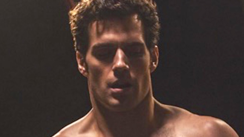Henry Cavill aka Superman shared a shirtless picture. Get a cup of water ready, because you're about to be thirsty.