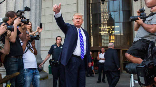 New York insults dozens of people serving jury duty by labeling them Donald Trump's peers.
