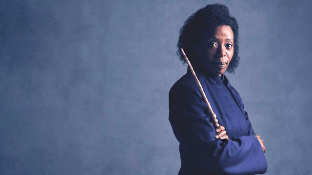 Hermione, Ron, and their daughter look extra badass in the first 'Harry Potter and the Cursed Child' photos.