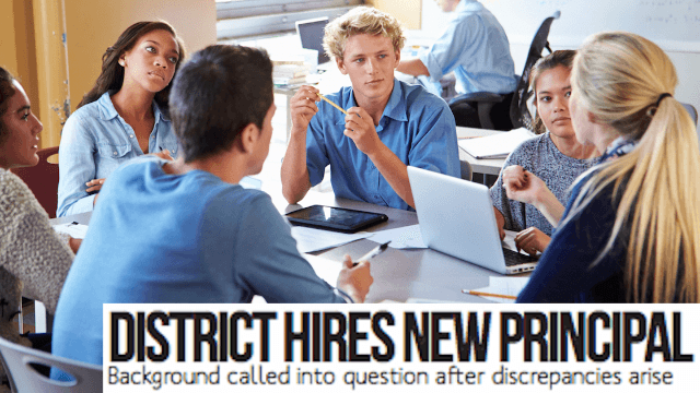 High school principal resigns after students at the school newspaper dig up dirt on her.