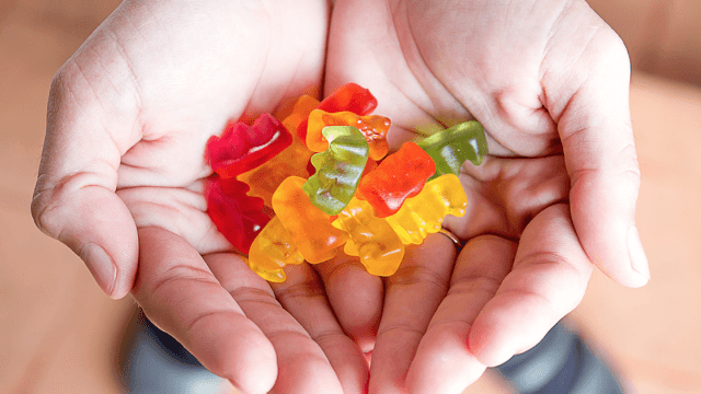 Suspicious gummy bears sent a bunch of high high school students to the hospital.