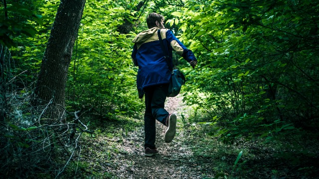 19 hikers and campers share their creepiest encounter with another human in the wilderness.