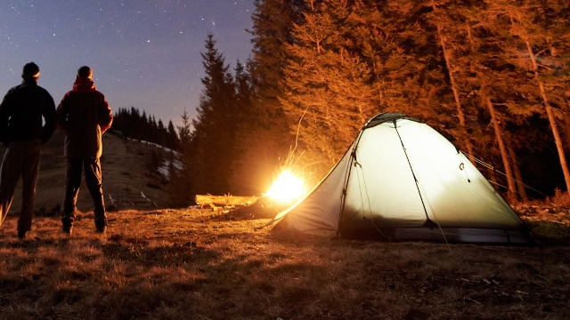 Overnight hikers are sharing the creepiest experiences they've had in the woods after dark.