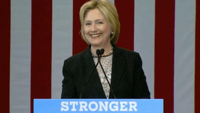 Hillary Clinton continues the insult war with a savage Twitter joke on Donald Trump's bankruptcies.