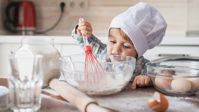 A class of toddlers made a hilarious cookbook. One of the recipes is just: salt.