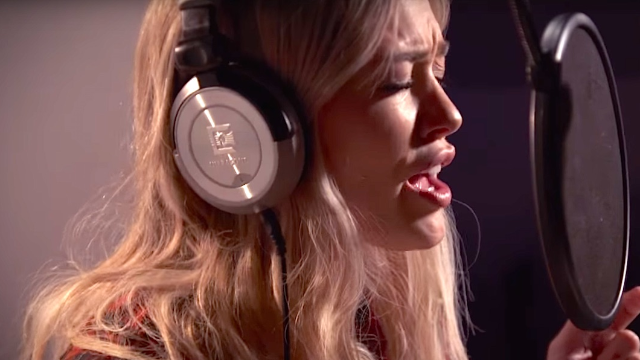 Hilary Duff did an electro version of Fleetwood Mac's 'Little Lies' for you to reluctantly enjoy.