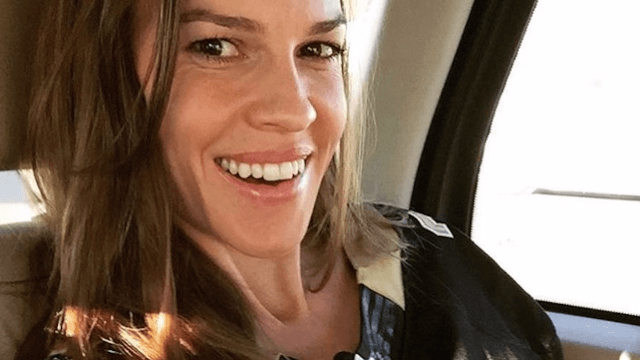 Did you know Hilary Swank was engaged? Because she isn't anymore.