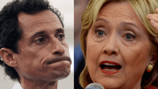 The FBI found new Hillary Clinton emails while investigating Anthony Weiner's sexting.