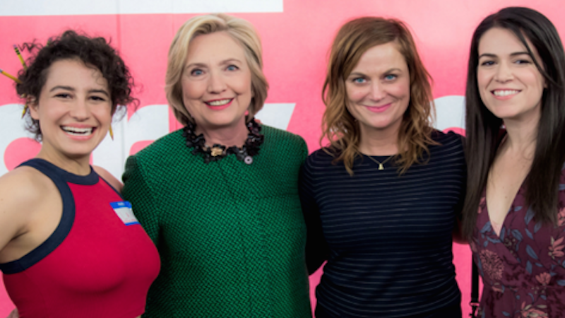 Yas queen! Hillary Clinton is going to be on 'Broad City.' No word on if she'll smoke weed.