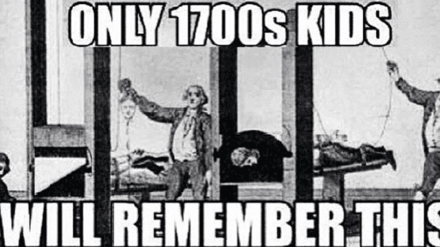 These hysterical history memes are our only hope for educating the children.