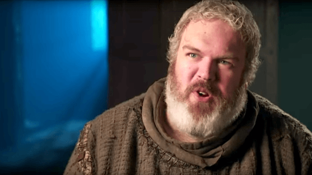 Hodor's own mother made an ice-cold joke about his 'Game of Thrones' fate.