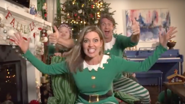 "The Holderness family performs ""#ELFED,"" an embarrassing Christmas parody of Kendrick Lamar."