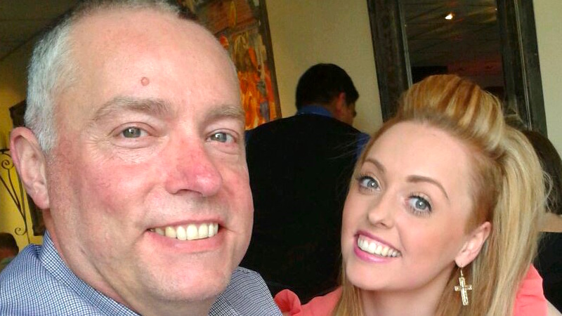 Dad takes on Facebook for not removing pictures of daughter with ex-boyfriend who murdered her.