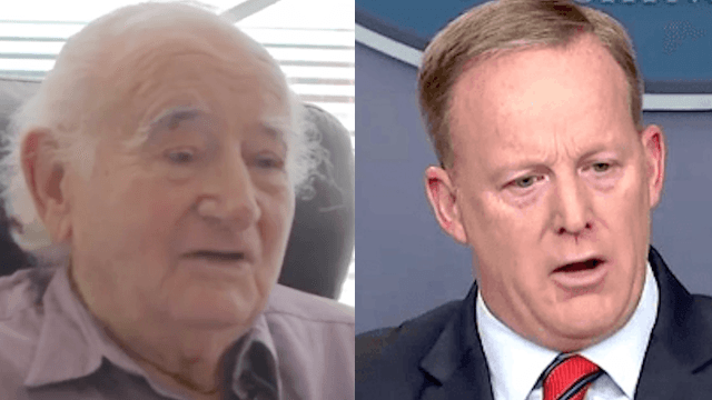 Holocaust survivor gives sobering explanation why Sean Spicer's comments are so 'ignorant.'