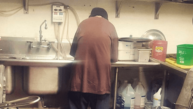 Homeless man begs for change in Minnesota cafe, gets a job and a viral Facebook post instead.