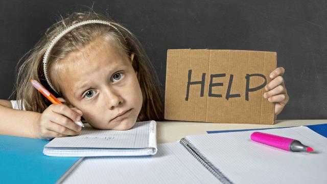 Helpful police respond to fifth-grader's homework emergency.