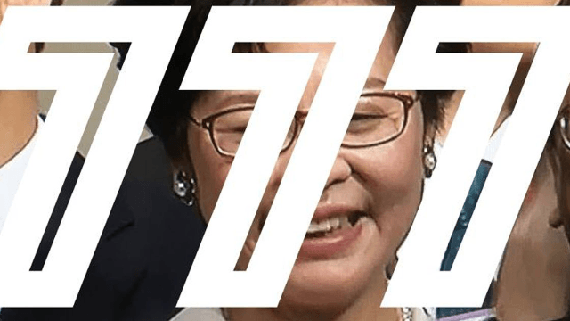 Hong Kong's unpopular new leader trolled with dick jokes after very unfortunate vote count.