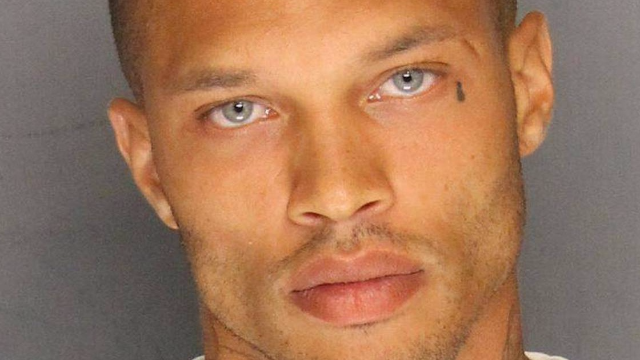 'Hot Mugshot Guy's wife shares the 'humiliating' way she found out he was cheating on her.