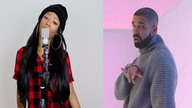 Feminist remix of 'Hotline Bling' calls out Drake for being a crazy controlling boyfriend.