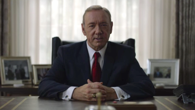 Frank Underwood tells America it will get the president it deserves in 'House of Cards' trailer.