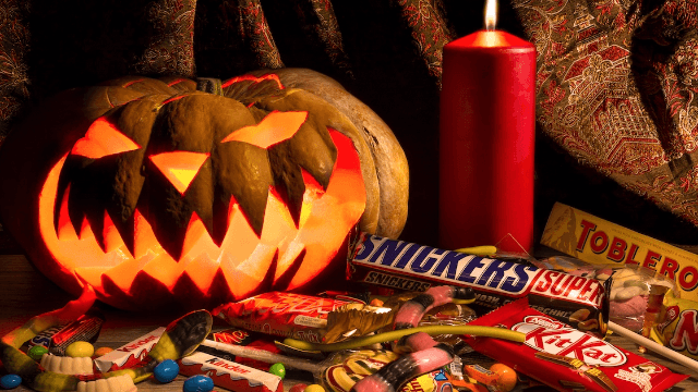 This is how much Halloween candy it would take to kill you.