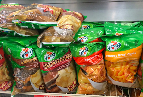 How to eat a well-balanced dinner entirely at 7-Eleven.
