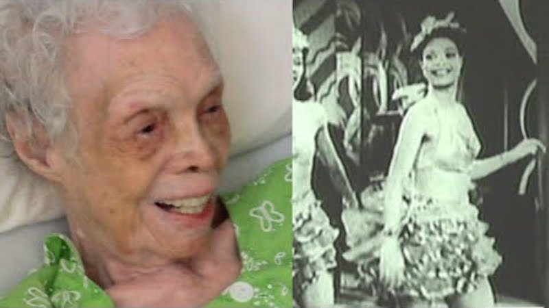 This 102-year-old was a famous dancer in the 30s, but never saw herself on screen until today.