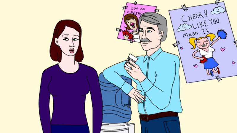 "Introducing ""HR Violations"" — an animated web series from Someecards and Above Average!"
