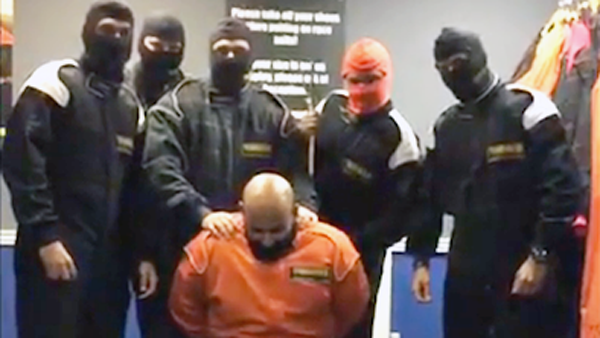 Bankers fired after mock ISIS beheading video is posted to Instagram.