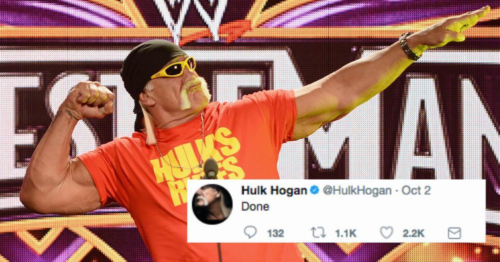 Hulk Hogan Allegedly Prayed For 12 Hours Straight We Have – Hulk Hogan Birthday Card