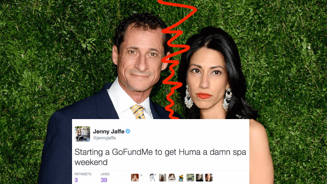 17 tweets from comedians expressing serious, nuanced views about Huma leaving Weiner.