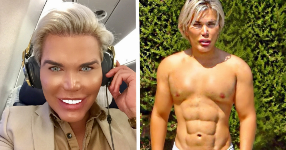 'Human Ken Doll' has hired two bodyguards after an alleged attack.