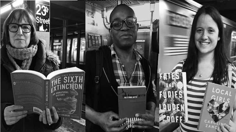 Subway Book Review is the Instagram that combines Humans of New York with book recommendations.