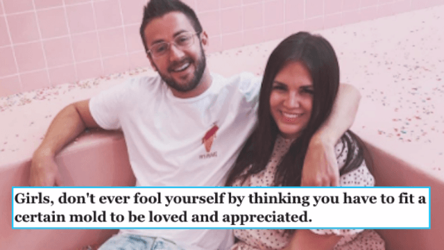 This husband's viral love letter to his 'curvy' wife is so sweet it will give you a cavity.