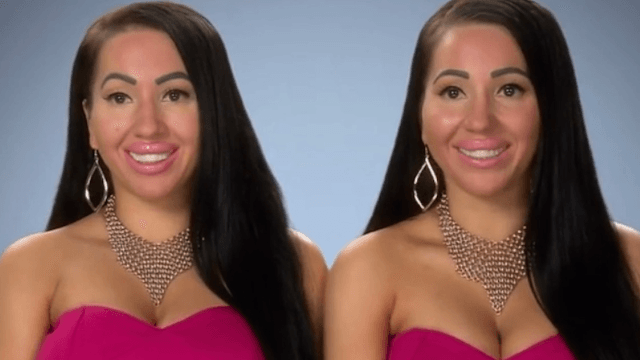 Creepy identical twins who share a boyfriend want identical breasts.