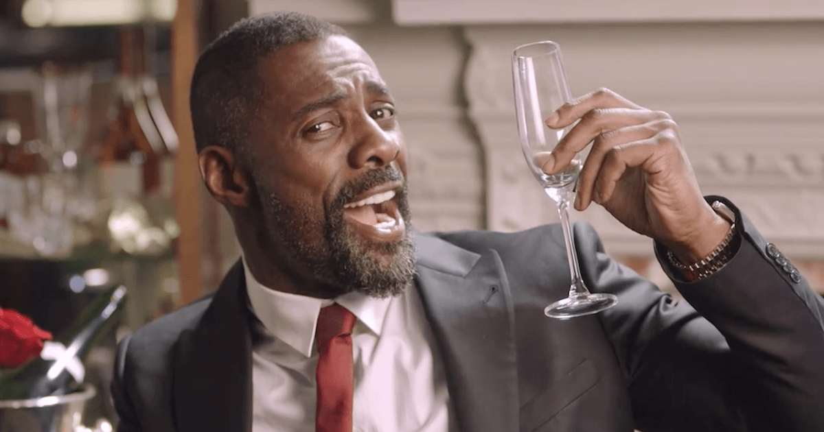 Idris Elba is auctioning off a Valentine's Day date with himself at a price you can afford. | Someecards Celebrities