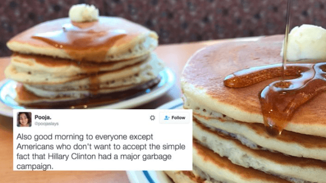 IHOP retweeted a very blunt opinion about Hillary Clinton, and people are losing their minds.