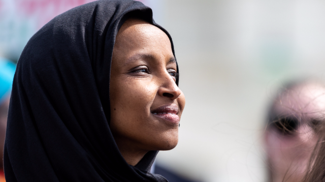 Ilhan Omar calls Tucker Carlson a 'racist fool' after his straight-up Nazi rant about her.