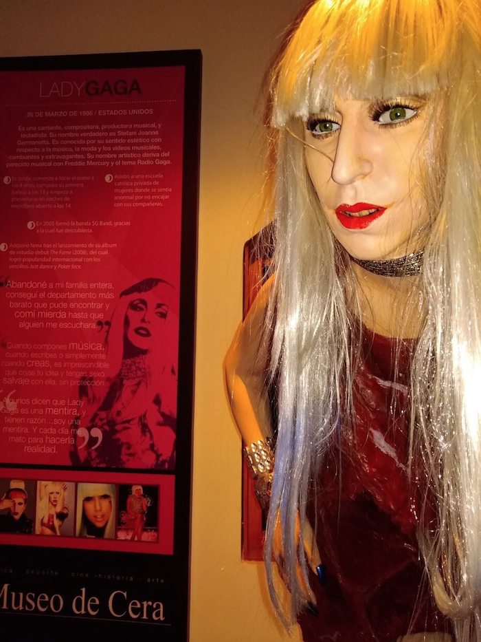 This wax statue of Lady Gaga is even more terrifying than the meat dress.