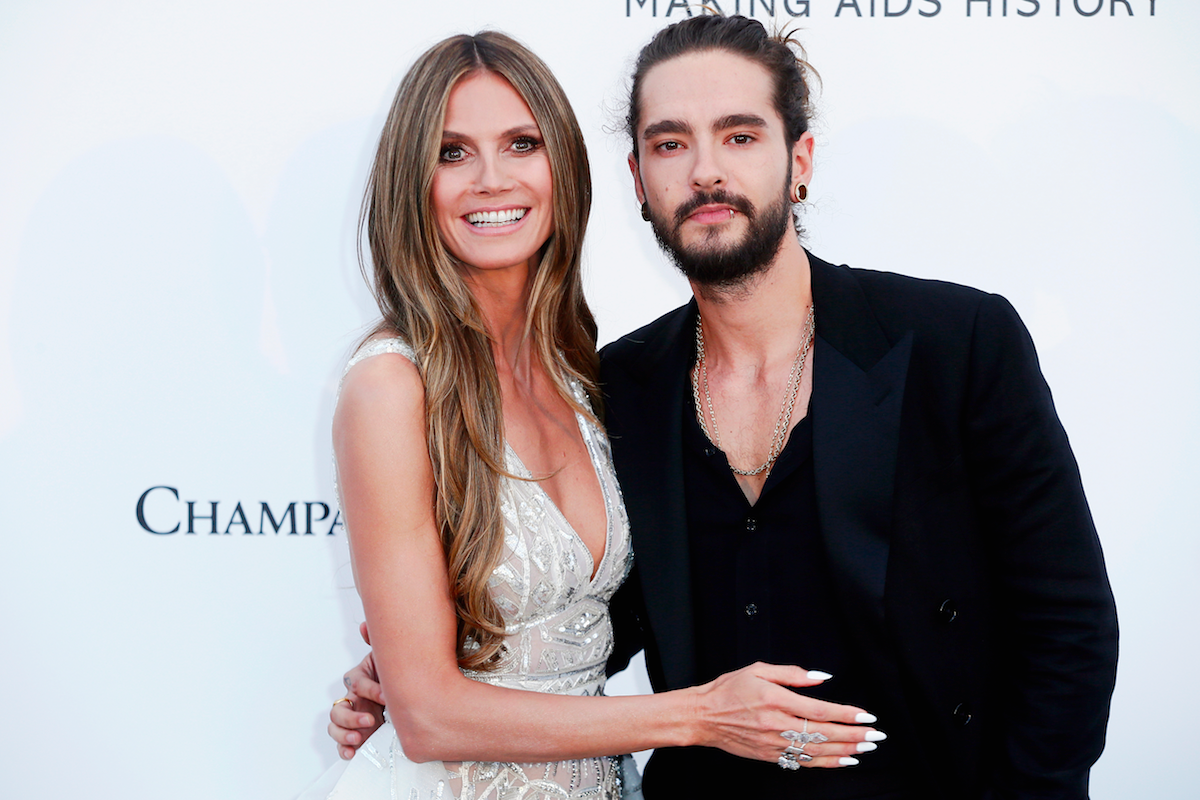 Heidi Klum and her boyfriend's Halloween costume took eight hours to put on. Worth it.