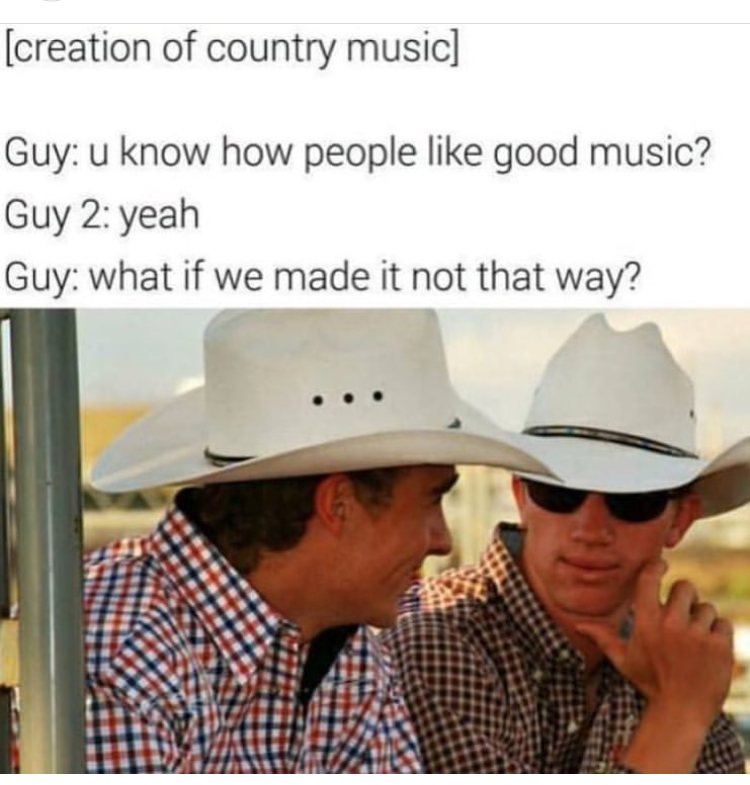 19 Memes That Will Only Be Funny If You Really Hate Country Music