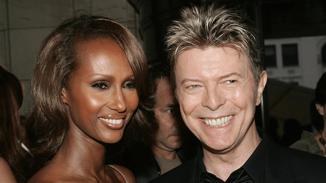 David Bowie remembered in sweet Valentine's Day tribute by wife Iman.
