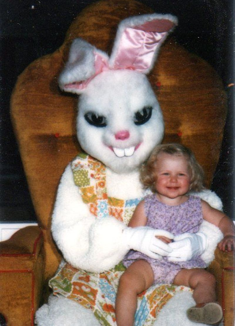 Image result for scary easter bunny