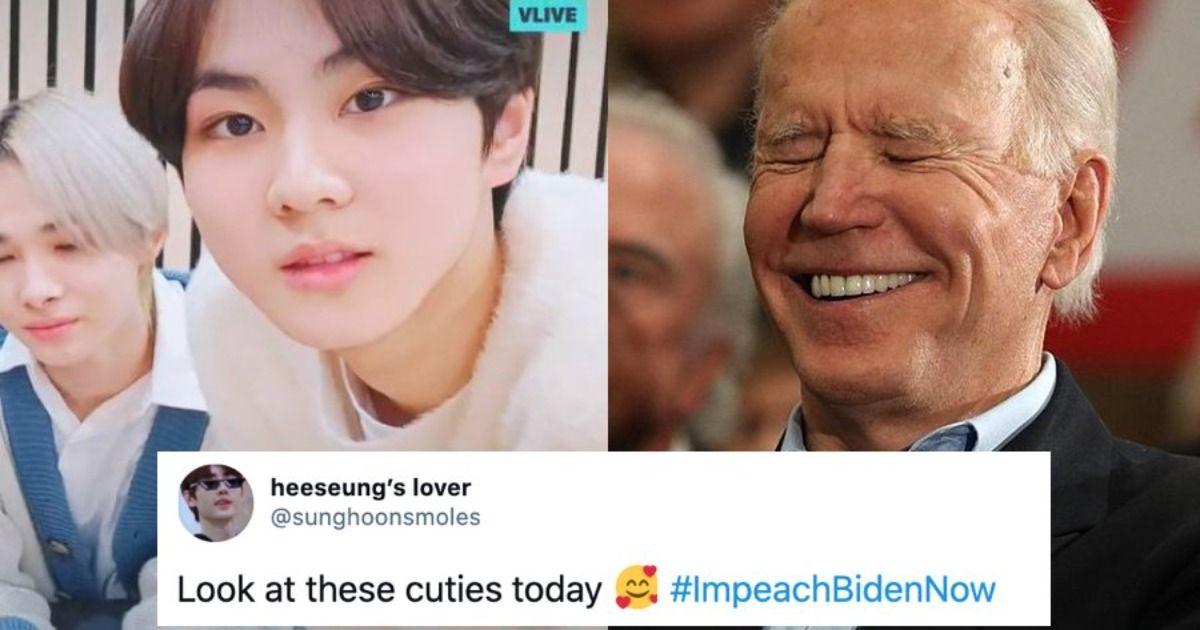 K-pop fans shut down Trump supporters by hijacking their #ImpeachBidenNow hashtag.