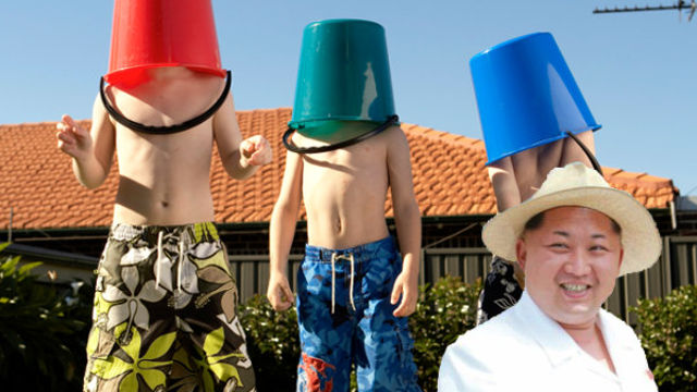 North Korea releases new photos of Kim Jong-Un in a jaunty summer hat, cause he's all about fun in the sun.