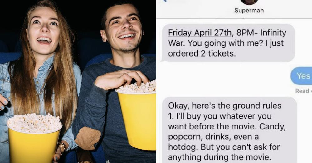 This list of 6 rules a guy set for his girlfriend before ...