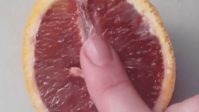 Instagram artist Stephanie Sarley posts videos of rubbing fruit with her finger, and it's surprisingly erotic.