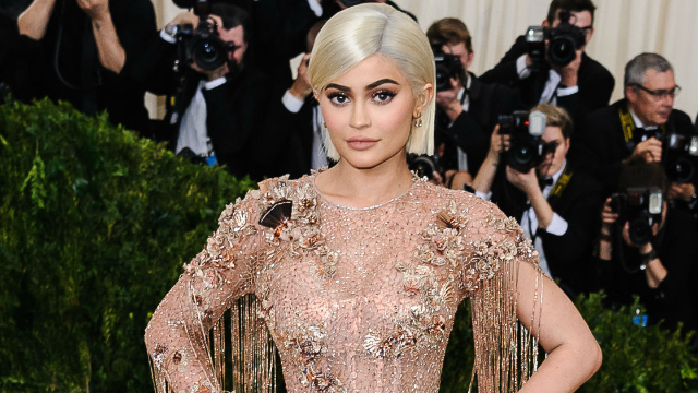 Kylie Jenner and new daughter Stormi wear white in new photo