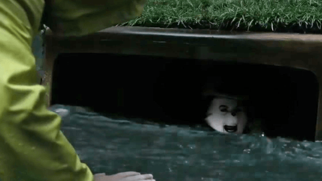 Here's a kid friendly version of the terrifying 'It' trailer to make your nightmares go away.