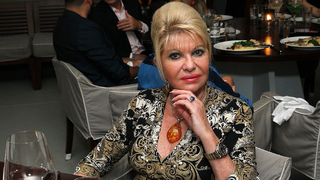 Ivana Trump thinks that Donald is 'definitely' a stable genius.